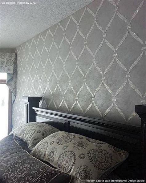 wall stencils for bedroom wall stencils ideas for dreamy bedroom decor
