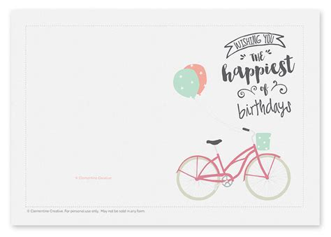 make free cards to print 7 paper birthday templates print paper templates