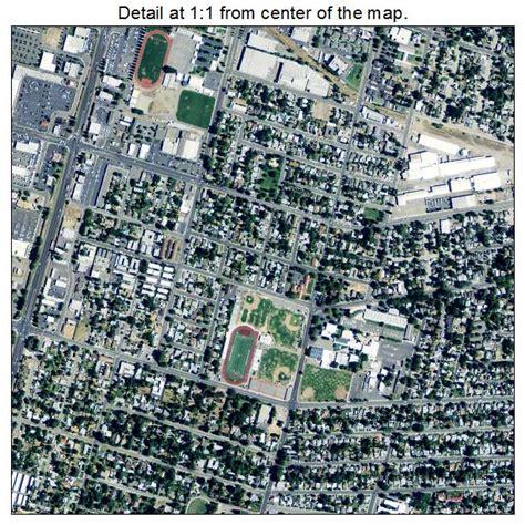 yuba city aerial photography map of yuba city ca california