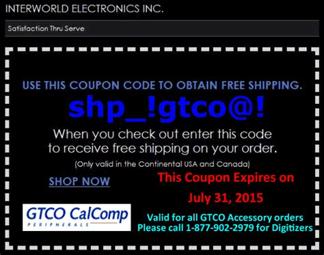 shipwreck coupon gtco free shipping page