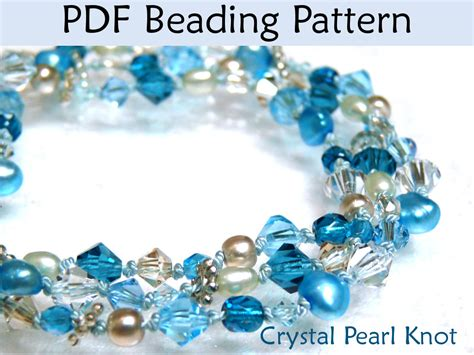 beading patterns pdf beading pattern tutorial pearl knotting simple bead