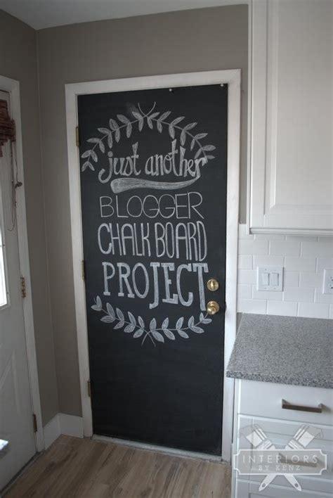 Chalkboard Doors On Chalkboard Paint Doors