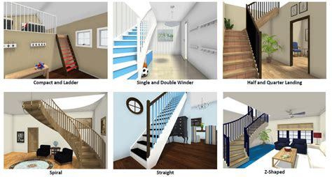 U Shaped Houses add and customize stairs pc amp mac roomsketcher help center