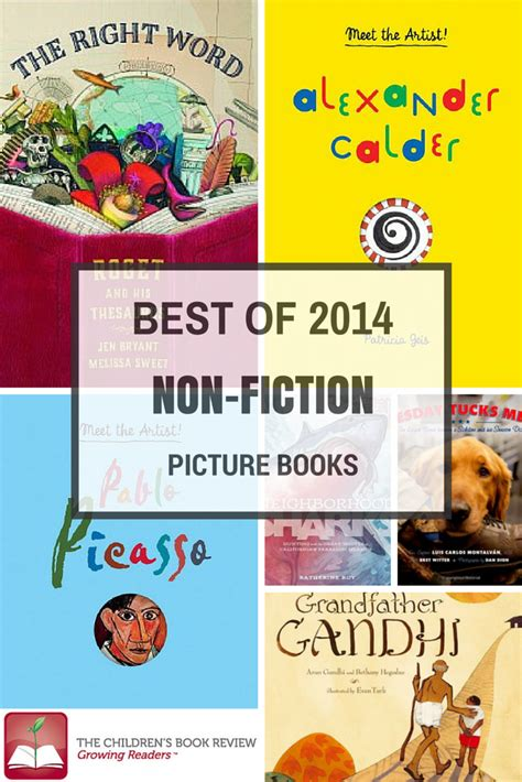 Best Non Fiction Picture Books Of 2014 The Childrens