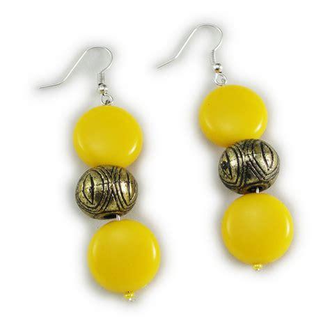 yellow bead runescape fashionvalley yellow antique necklace