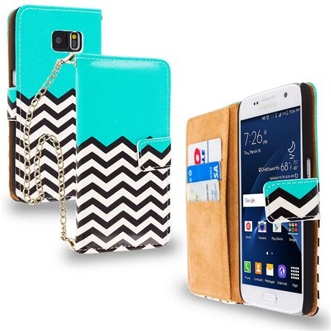 accessories for card for samsung galaxy s7 executive wallet flip with id