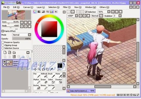 paint tool sai version free 2014 paint tool sai software untuk menggambar anime hienzo