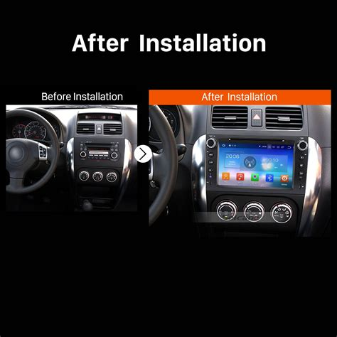 buy car manuals 2012 suzuki sx4 navigation system android 8 0 radio dvd player gps navigation system bluetooth stereo for 2006 2012 suzuki sx4