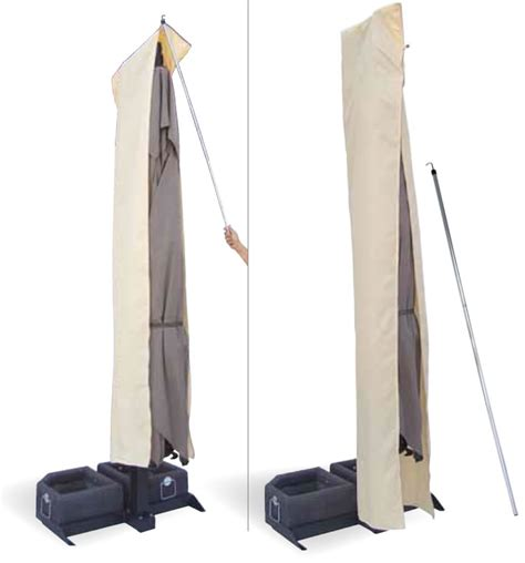 parasol d 233 port 233 mat blanc ou inox de grande qualit 233