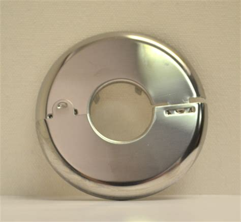 Decorative Fire Extinguisher split ring flat chrome escutcheon 1 2 quot sprinkler