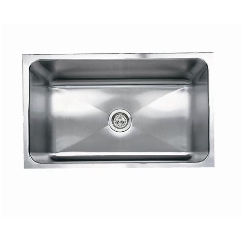 shop blanco magnum stainless steel single basin undermount