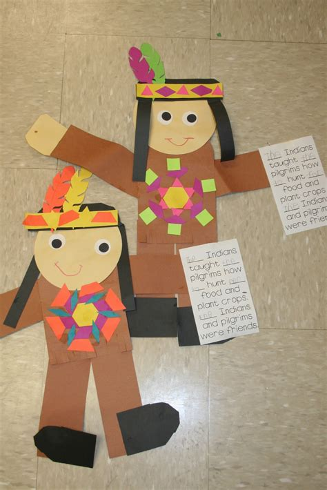 indian and craft for mrs s kindergarten thanksgiving and a freebies