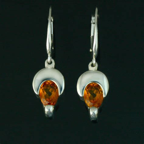 jewelry classes mn citrine crescent moon earrings crown trout jewelers