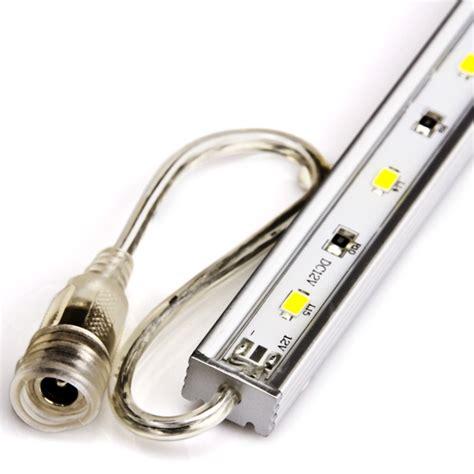 led lights waterproof waterproof linear led light bar fixture w dc barrel