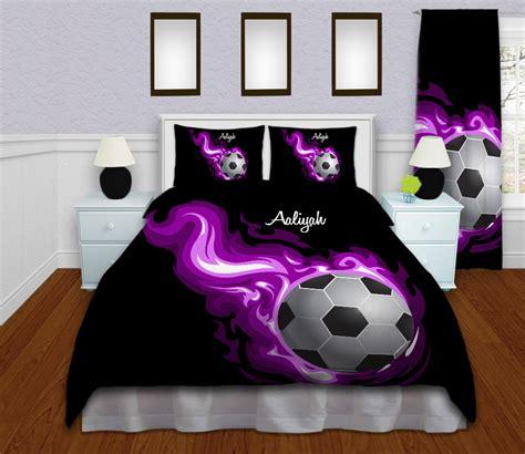 soccer bed sets soccer bedding personalized soccer duvet cover sports