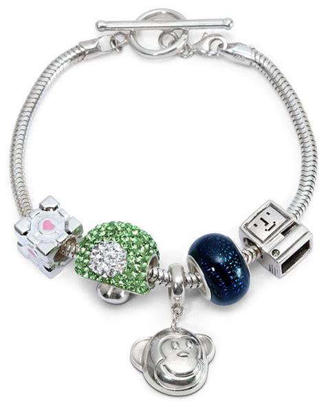 charm for bracelets finally a charm bracelet for geeks take that pandora