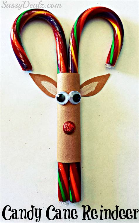 crafts with canes reindeer canes and reindeer on