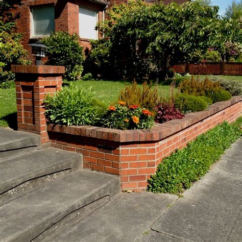 garden brick wall design ideas 35 retaining wall blocks design ideas how to choose the