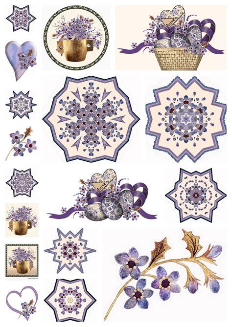 free decoupage prints artbyjean purple wood roses 2011 02 13