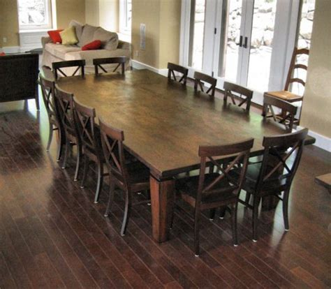 large kitchen tables best 25 large dining rooms ideas on large