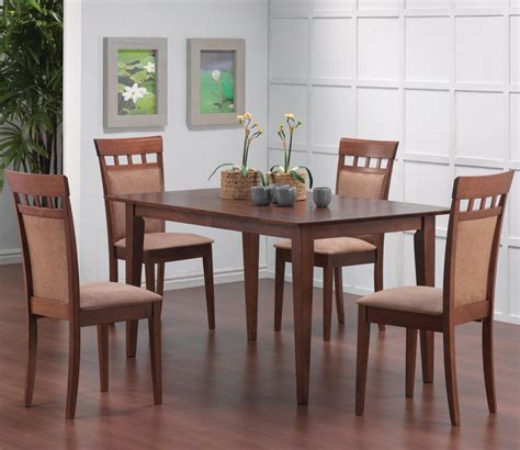 dining room furniture nc coaster dining room dining table 101771 hickory