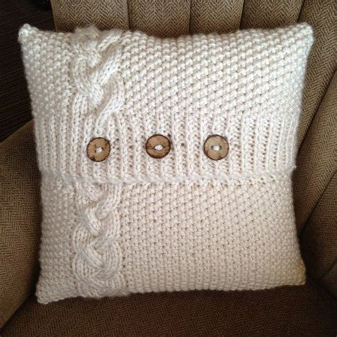 1000 Ideas About Knitted Pillows On Knitted