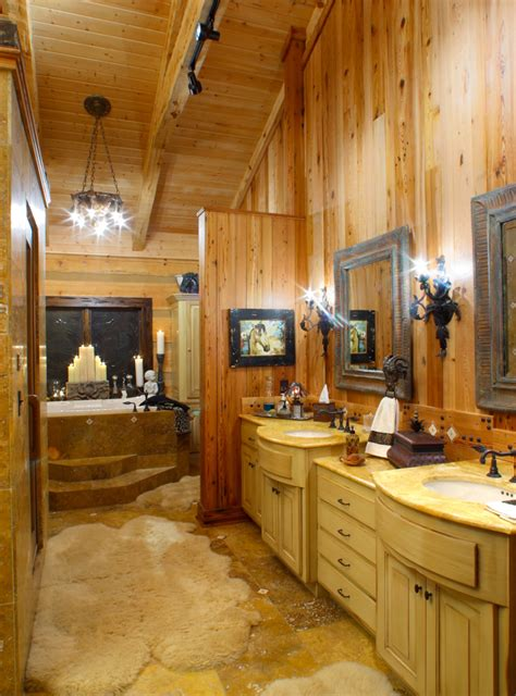 Log Home Bathroom Ideas by Log Home Bathrooms