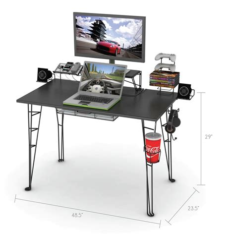 roccaforte ultimate gaming desk desk gaming r2s gaming desk roccaforte gaming desk x1s