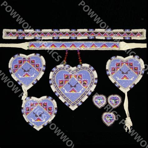 bead sets for adults 9 beaded set powwow fabrics and designs