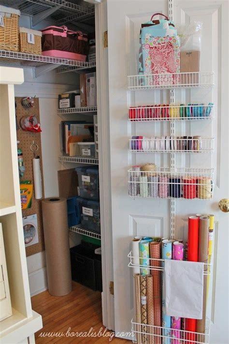 organizing craft paper 25 best ideas about craft closet organization on