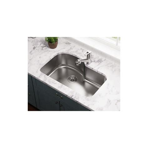 stainless steel undermount single bowl kitchen sink polaris p643 undermount offset single bowl stainless steel