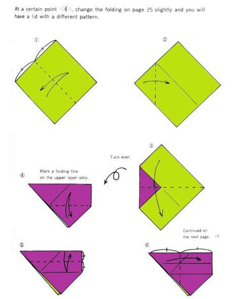 origami at at beautiful origami box