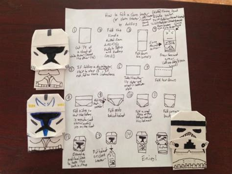 how to fold origami anakin skywalker clone search results origami yoda page 31