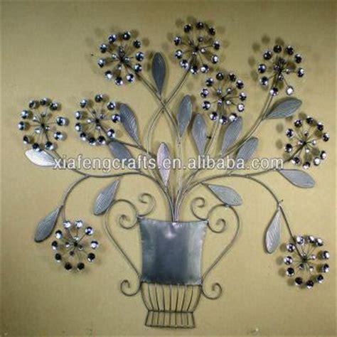 metal ornaments home decor metal flower ornament wall decor cheap home decor