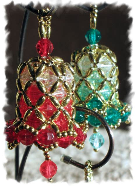 beaded bell ornament 17 best ideas about beaded ornaments on