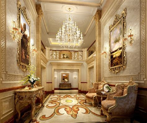 luxury decor wall decoration in luxury hotels 3d house