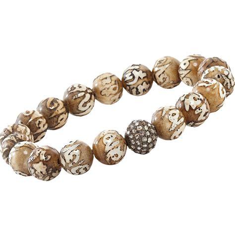 prayer bead bracelets page mccleary prayer bead bracelet in gray