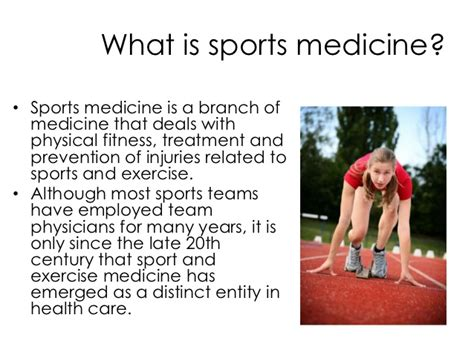 what is high sports medicine presentation