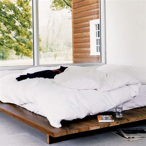 diy low bed frame 1000 ideas about diy bed frame on diy bed