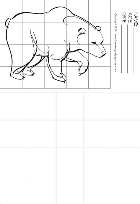 grid drawing drawing with grids activity polar walking by