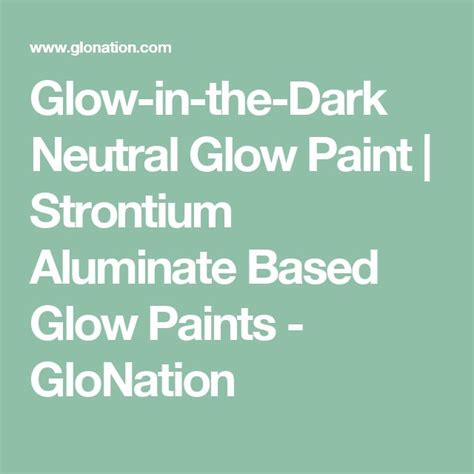 glow in the paint with strontium aluminate 1000 ideas about glow paint on glow in