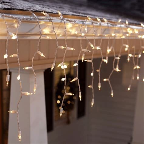 how to hang icicle lights tips for hanging outdoor lights