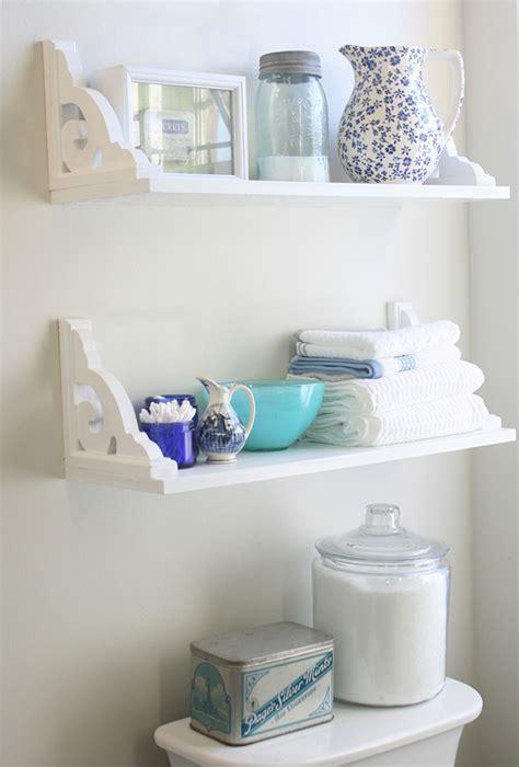 shelves for bathroom beautiful diy shelving made easy