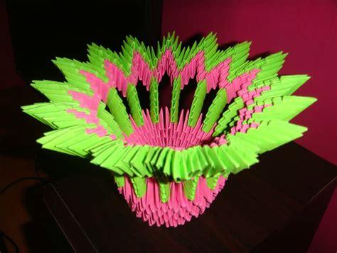 3d flower origami 3d origami flower vase wallpaper
