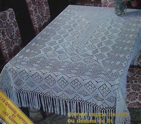 comment tricoter des nappes