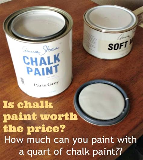 How Much Can You Paint With A Quart Of Chalk Paint My