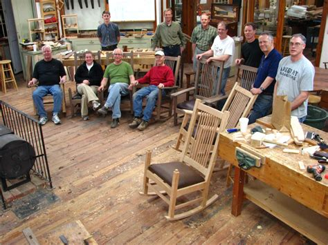 heritage school of woodworking rocking chair course completed heritage school of