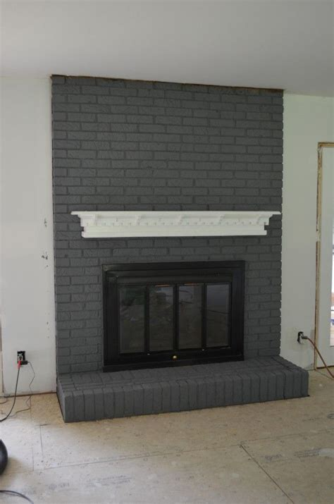 paint colors for fireplace best 25 painted brick fireplaces ideas on