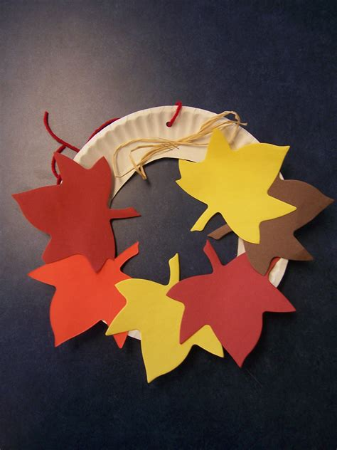 paper leaf craft leaves awesome story time