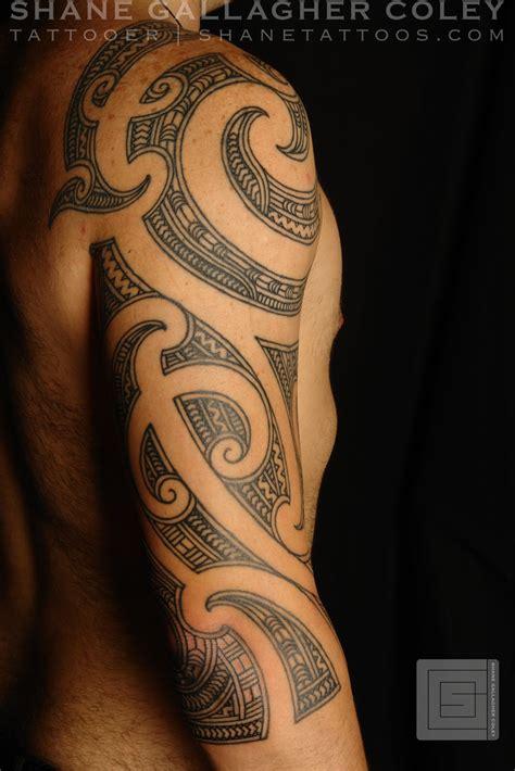maori polynesian tattoo maori 3 4 sleeve